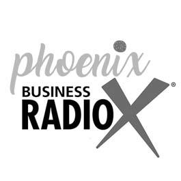 Phoenix Business RadioX Logo